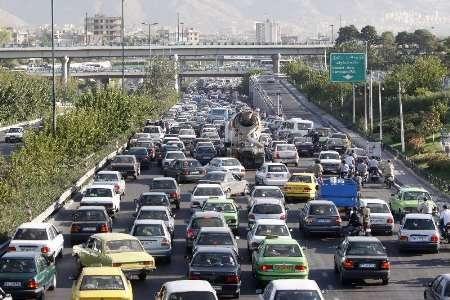 ترافیک در آزاد راه تهران