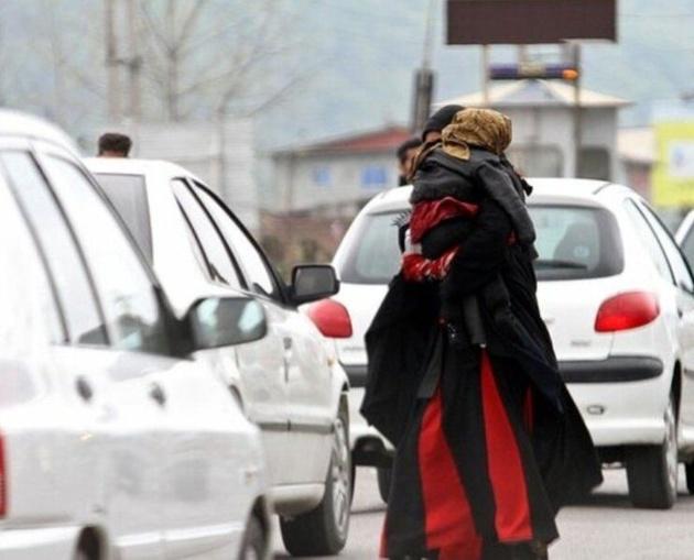 طرح جمعآوری متکدیان آزاد راه تهران - کرج آغاز شد