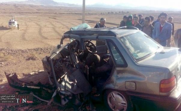 برخورد یک دستگاه پژو باپرایددرسنندج یک کشته و سه زخمی برجای گذاشت