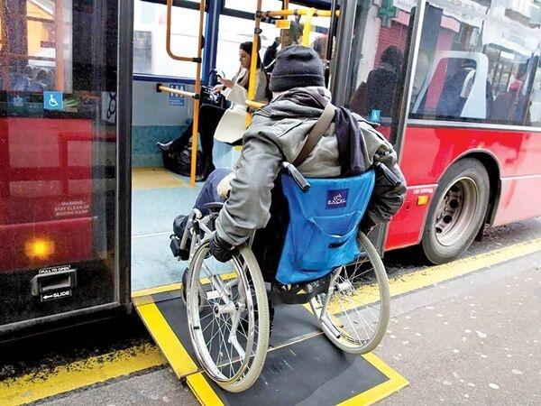 ۱۳۹ ایستگاه اتوبوس تهران برای توانیابان مناسبسازی شد