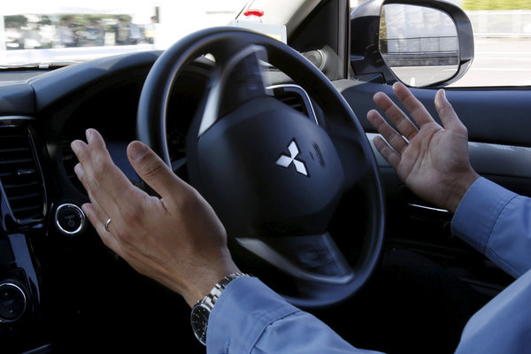 Mitsubishi to exhibit autonomous-driving vehicle xAUTO