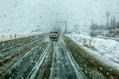 آماده باش پلیس راهور برای خدمات رسانی در هنگام بارش برف
