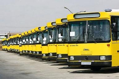 بیکاری رانندگان و اتوبوسهایی که خوابیدهاند