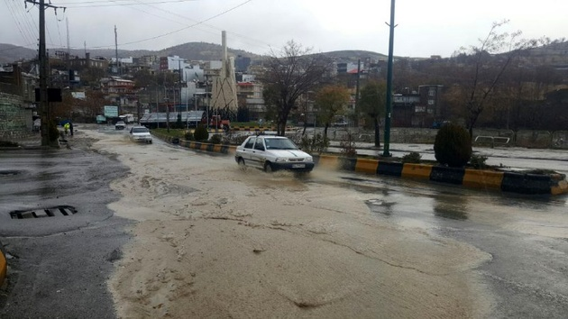 راههای اصلی استان لرستان بازگشایی شد