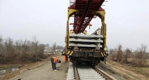 آغاز ریلگذاری خطآهن زاهدان - چابهار با ریل ملی/1000 تن ریل دریافت کردهایم
