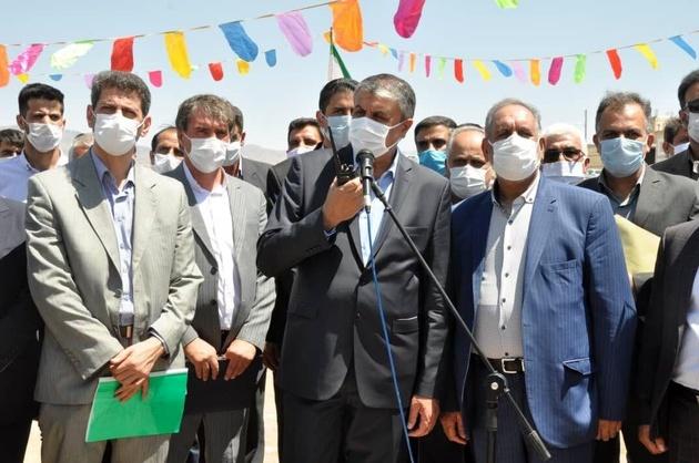 عملیات اجرایی ۲۴۴ واحد مسکن طرح اقدام ملی در تودشک اصفهان آغاز شد
