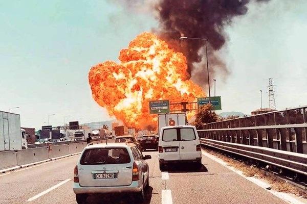 انفجار شدید در نزدیکی فرودگاه بلونیا
