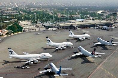 بازگشت حالت عادی پروازهای مهرآباد با پایان مراسم تنفیذ