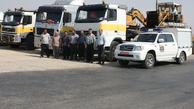 فعالیت راهداران آذربایجان شرقی در مرز مهران برای تسهیل سفر زائران اربعین حسینی