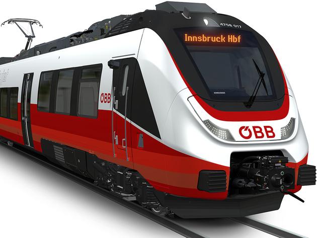 ÖBB orders Bombardier EMUs