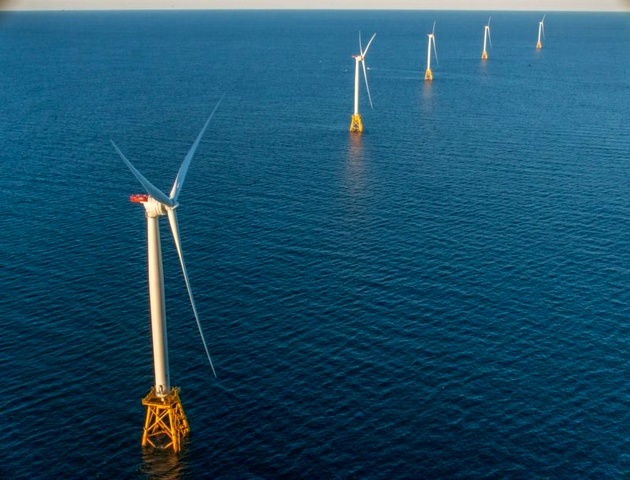 Second Offshore Wind Farm in United States Now Under Construction