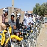 توزیع اقلام ایمنی در محورهای مواصلاتی سیستان و بلوچستان
