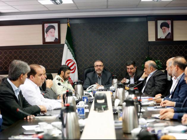 گزارش کمیته حمل و نقل و سوخت در جلسه ستاد مرکزی اربعین ارائه شد