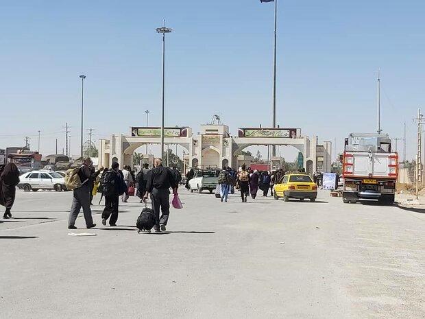 پروژه بهسازی و احداث کنارگذر ترمینال برکت مهران افتتاح شد