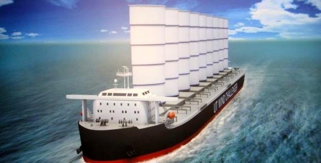 Shipping is beginning to notice wind propulsion solutions