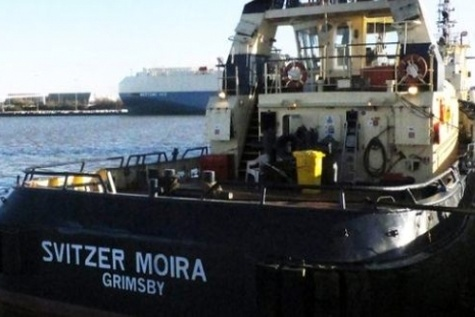 Fall from tug Svitzer Moira with loss of one life
