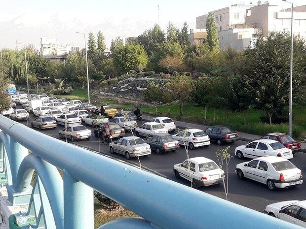 ترافیک سنگین صبحگاهی در تمام معابر پایتخت