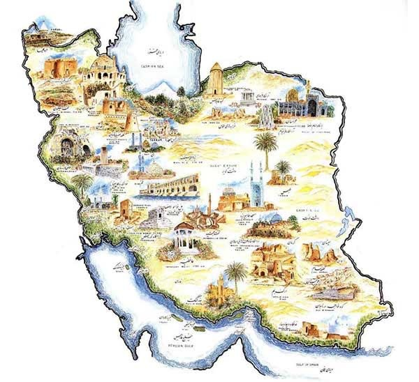 امنیت گردشگری ایران بیشتر از فرانسه، انگلیس و آمریکا