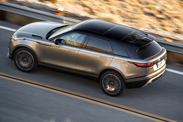 Range Rover Velar tested, Mercedes-Benz GLS spied, Lamborghini LM002 revisited