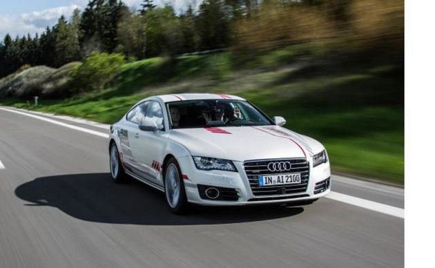 Audi first to test autonomous vehicle in New York
