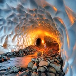 Tourist resort: Azna snow tunnel