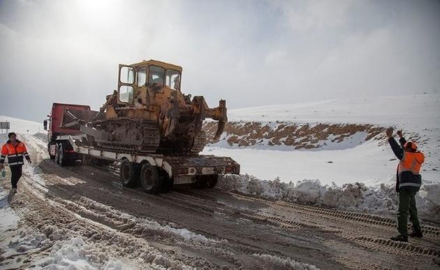 آمادگی راهداران تربت جام در طرح راهداری زمستانی