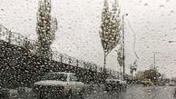 بارش پراکنده در سواحل دریای خزر و ارتفاعات البرز مرکزی