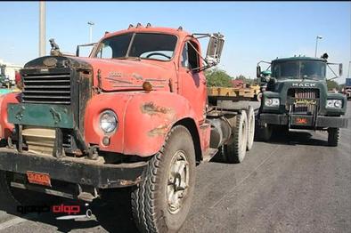 وجود بیش از ۴۰۰ هزار دستگاه کامیون فرسوده در کشور