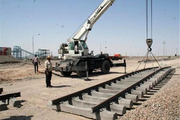 افزایش چهار برابری اعتبار شبکه ریلی اراک - اصفهان