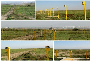 پایان عملیات نصب فیزیکی چراغ های تقرب دقیق فرودگاه گرگان