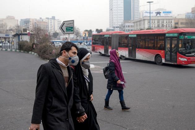هوای تهران بر مدار آلودگی/هشدار به گروههای حساس