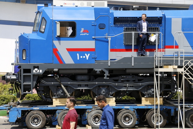 شرکت راهآهن 40 لوکوموتیو MAP24 میخرد