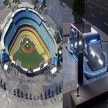 تماشاچیان بیسبال اولین مسافران هایپرلوپ