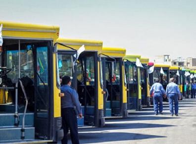 اتوبوسرانی اهواز متوقف شد