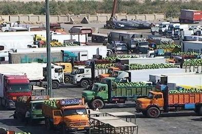 عدم ممنوعیت برای تحویل بار به کامیونهای طرف عراقی در مرز مهران