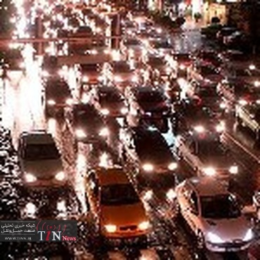 عوارض تردد خودرو در شهر تهران