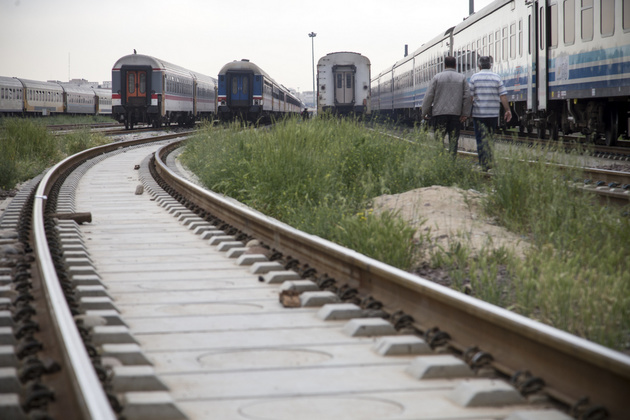 آغاز ریلگذاری پروژه راهآهن اردبیل قطعی شد