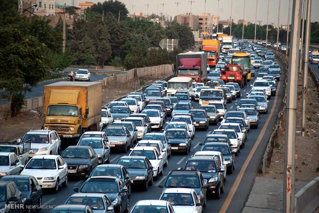 ترافیک نیمه سنگین در محورهای شمال کشور