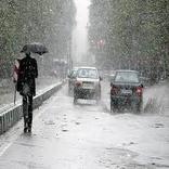بارش برف و باران از بعدازظهر فردا