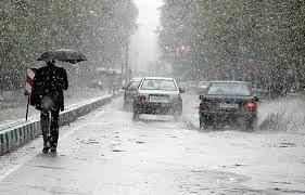پیشبینی بارش برف و باران در کشور