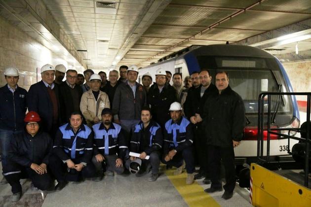 تست سرد موفقیتآمیز قطعه جنوبی خط 6 متروی تهران