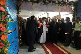 گزارش تصویری مراسم بدرقه حجاج به حج تمتع از فرودگاه امام خمینی (ره)