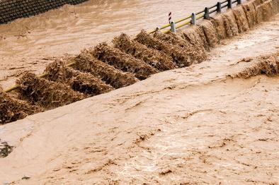 تردد خودروها در جاده پلدختر - خرمآباد ممنوع شد