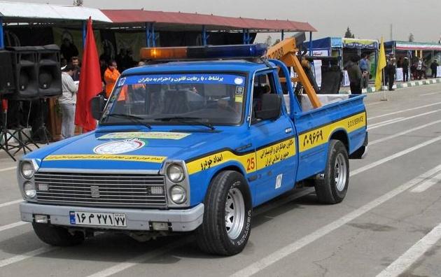 بهبود شرایط خدمات امدادخودرو در جاده چالوس