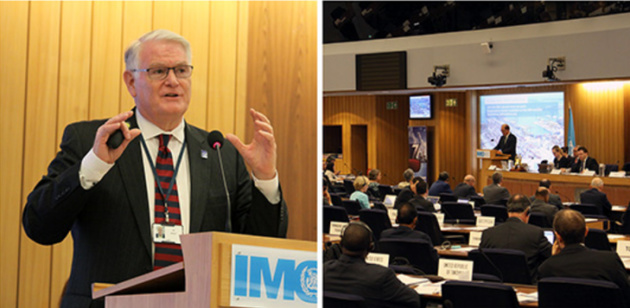 IMO highlights the importance of ports for the maritime industry