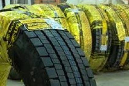 فیلم| توزیع لاستیک تاریخ مصرف گذشته بین رانندگان ناوگان سنگین؟