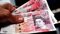 سقوط آزاد ارزش پوند انگلیس