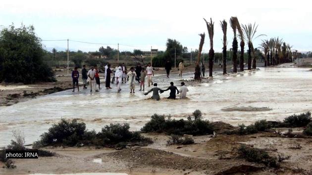سیل شدید در سیستانوبلوچستان: بیش از ۳۵۰ روستا در محاصره سیلاب