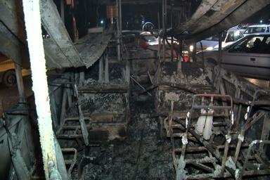 27 اتوبوس شهری اصفهان دیروز در آتش سوخت