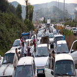 ترافیک سنگین در محور هراز/ گره ترافیکی در محورهای شرق تهران وجود ندارد